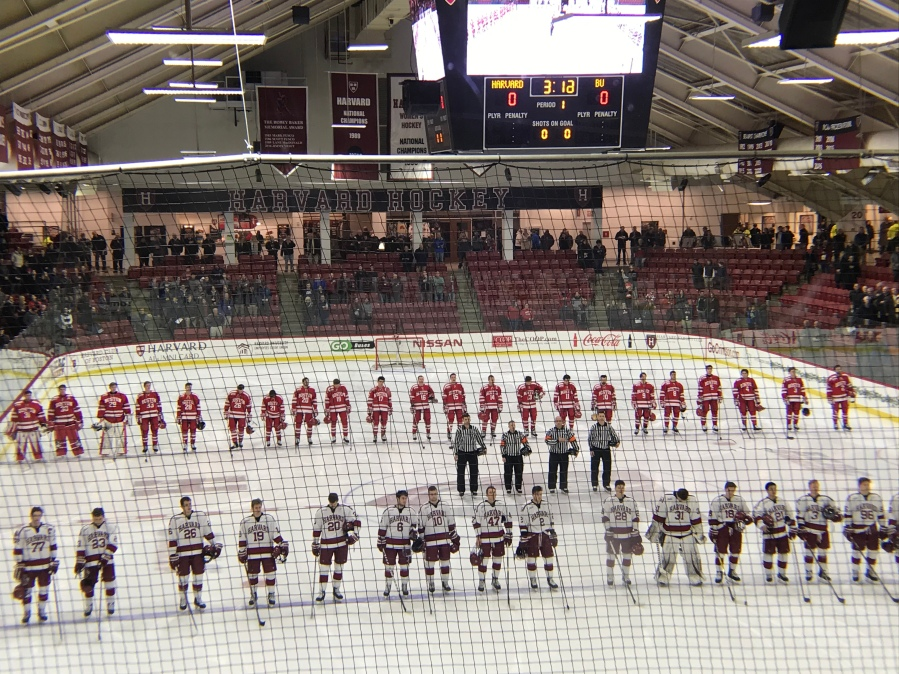 BU Terriers @ Harvard Crimson