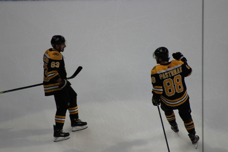 Pastrnak's Game On the Rise