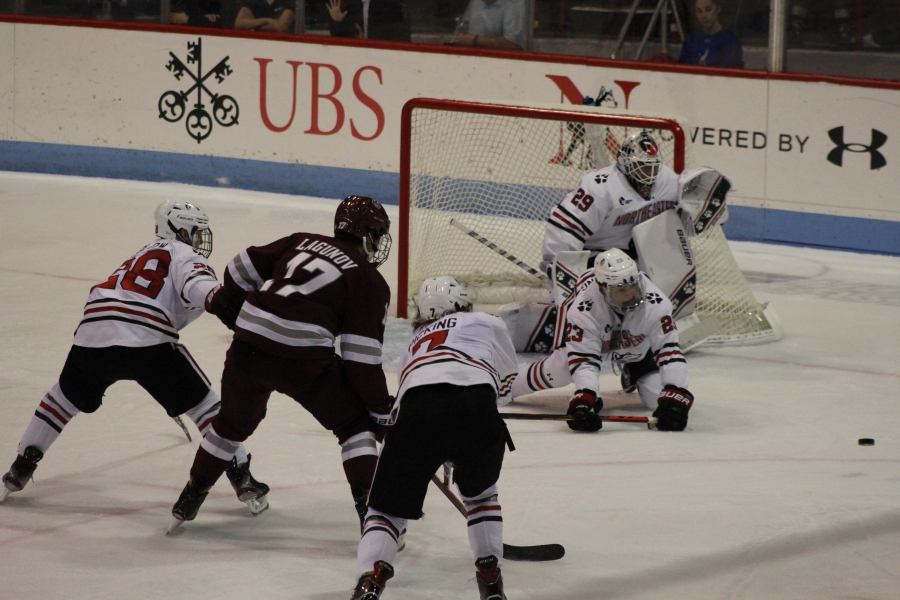 Northeastern Opens Hockey East Play with Win Over Massachusetts