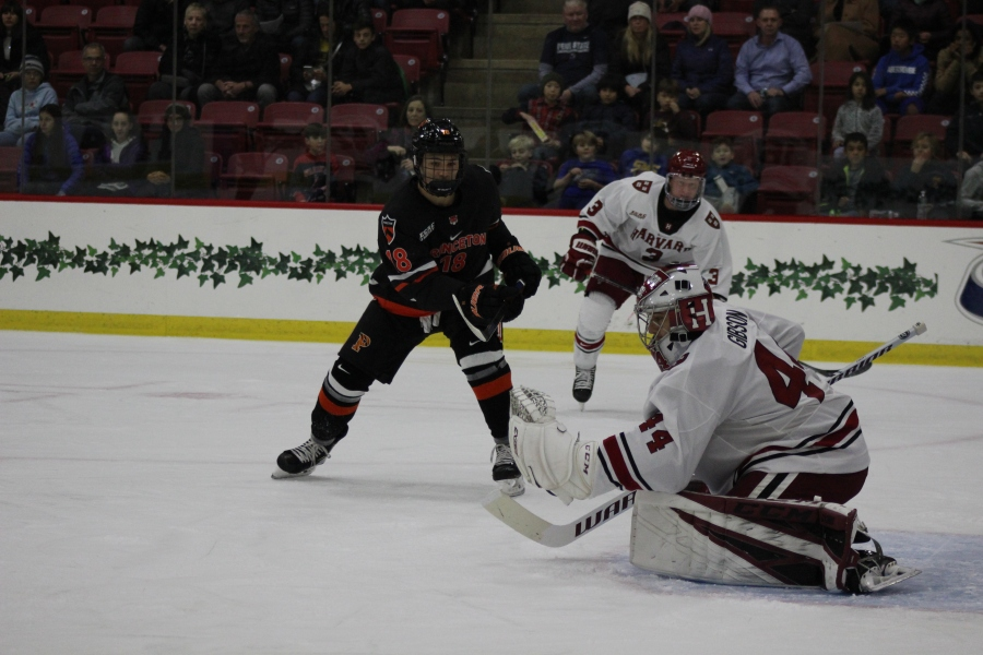 Gibson Shuts Out Princeton in Debut