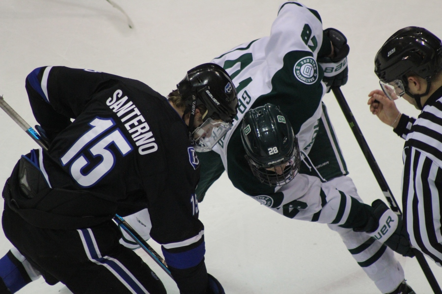 Bentley Ties Dartmouth 2-2