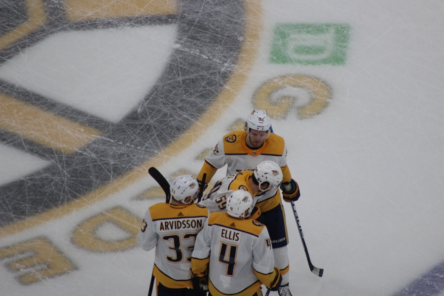 Predators Extend Bruins Woes, Win 4-3 in OT