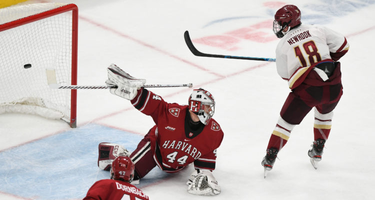 BC Throttles Harvard in Beanpot Consolation