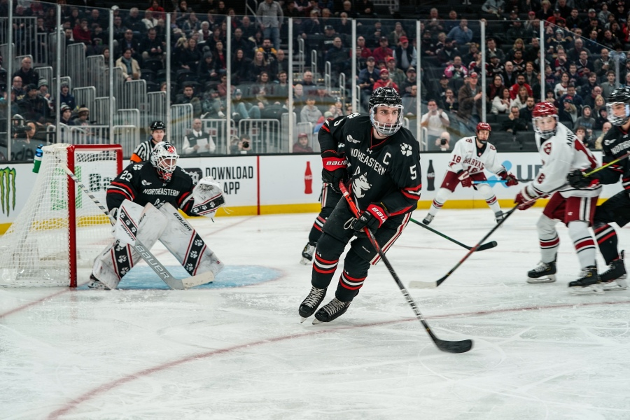 Northeastern Graduates to Third Straight Beanpot Final