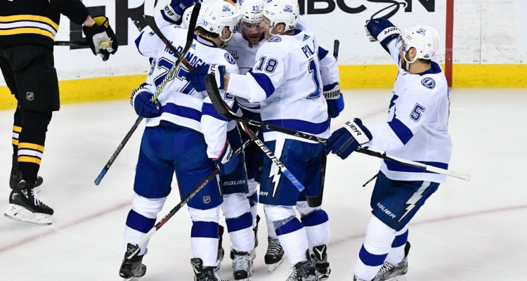Lightning Strike Down Bruins 5-3