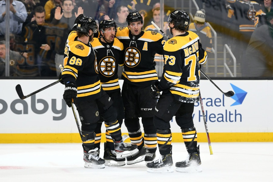 Bruins Answer Bell Against Capitals