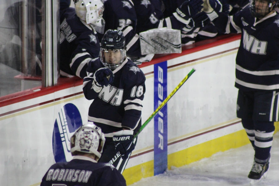 UNH Edges BC in OT
