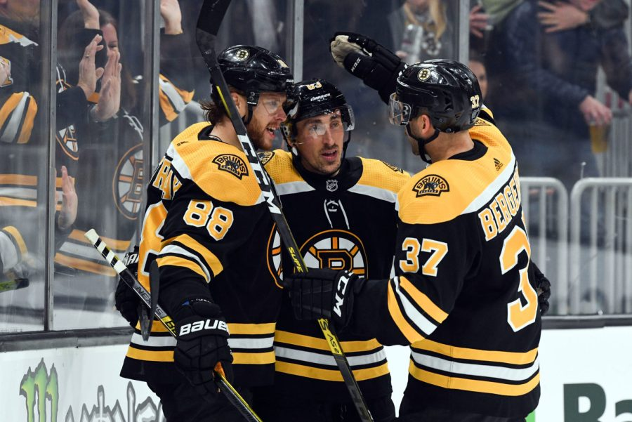 Marchand, Bruins Outlast Devils inOT