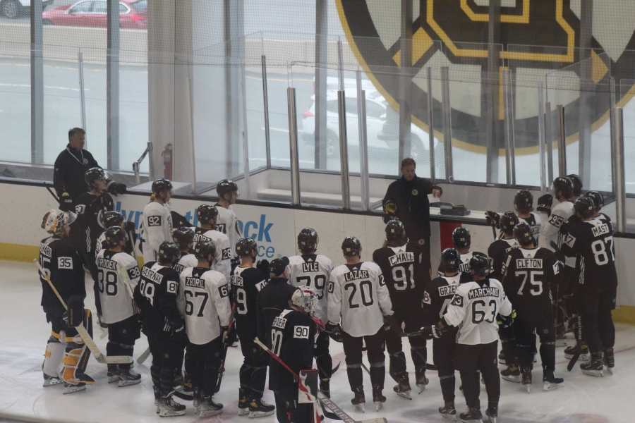 Day Two Bruins Training CampThoughts